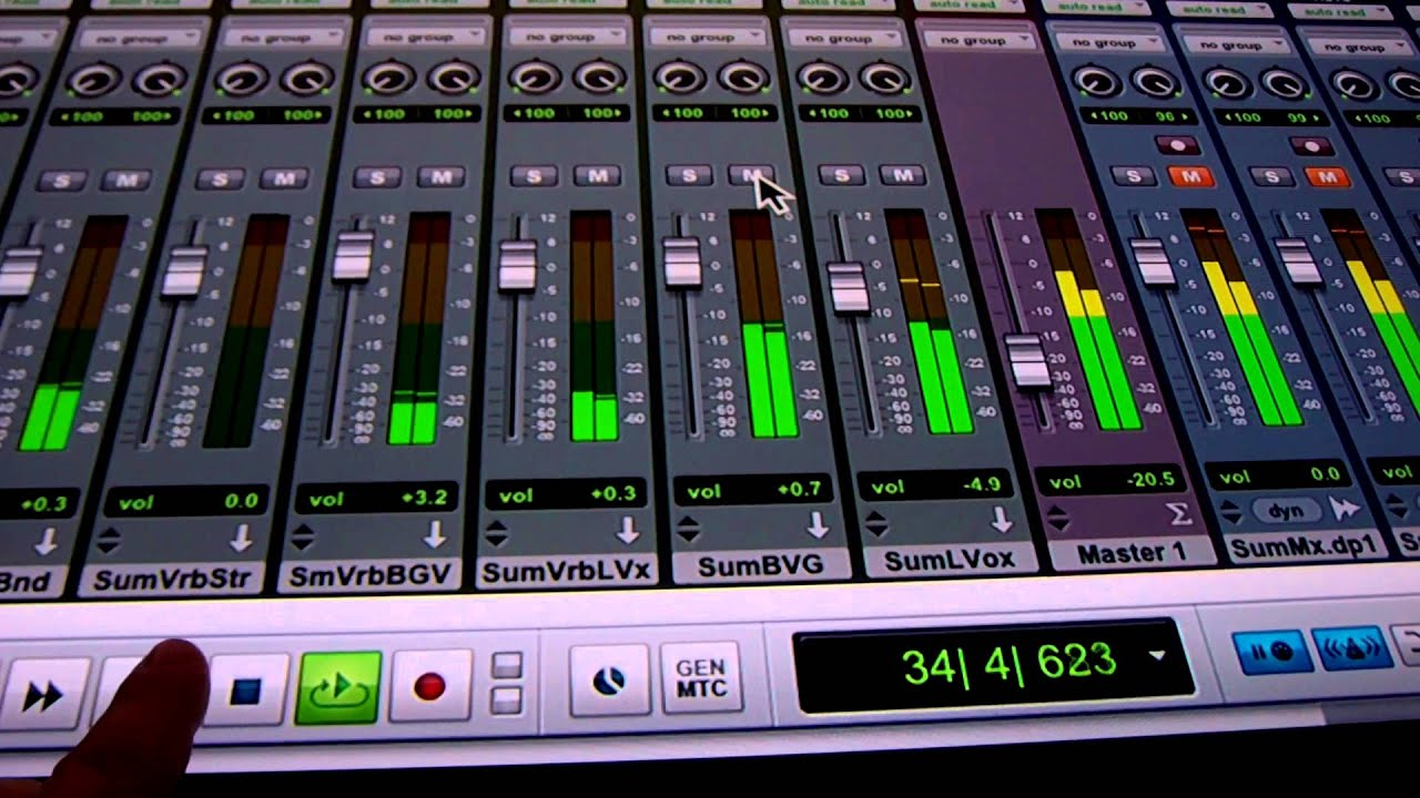 Pro Tools in OSX Running on 42