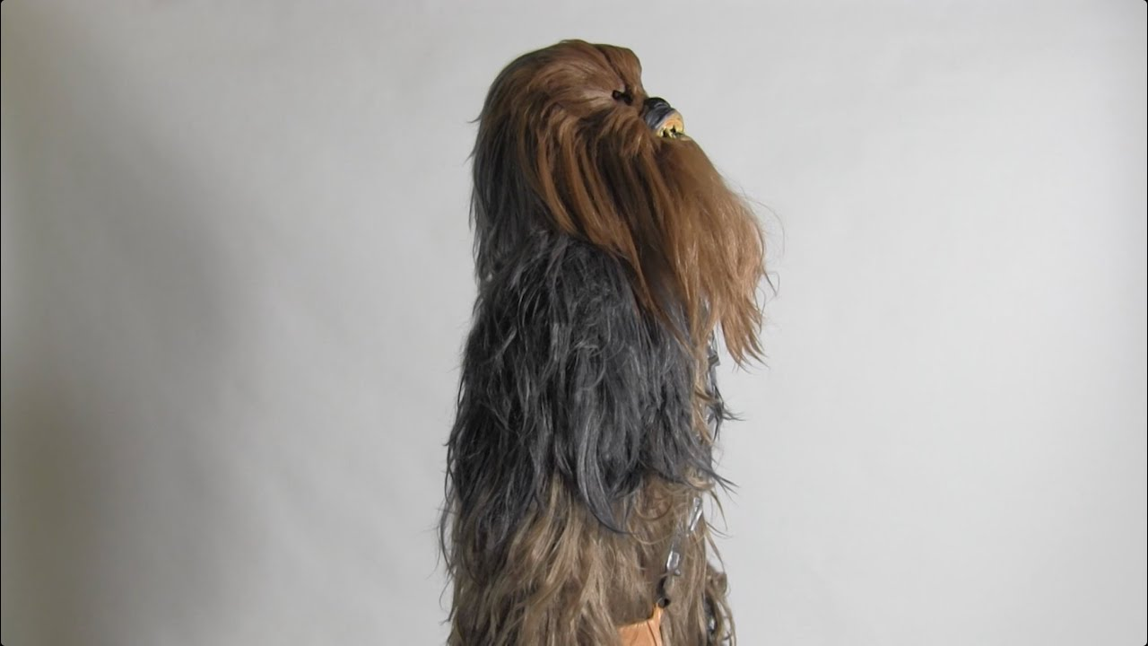 & Star Wars - Chewbacca Collectoru0027s Edition Adult Costume - YouTube