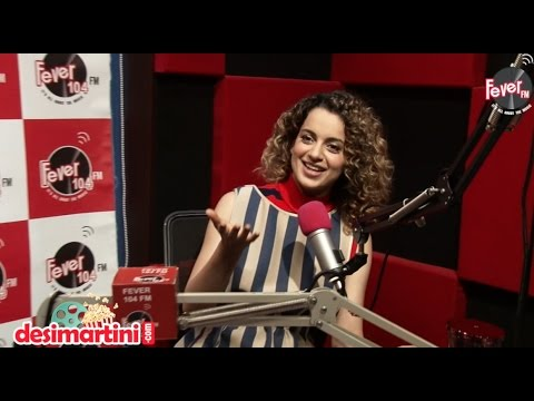 Kangana Ranaut | Exclusive Interview | Rangoon | Radio Fever |