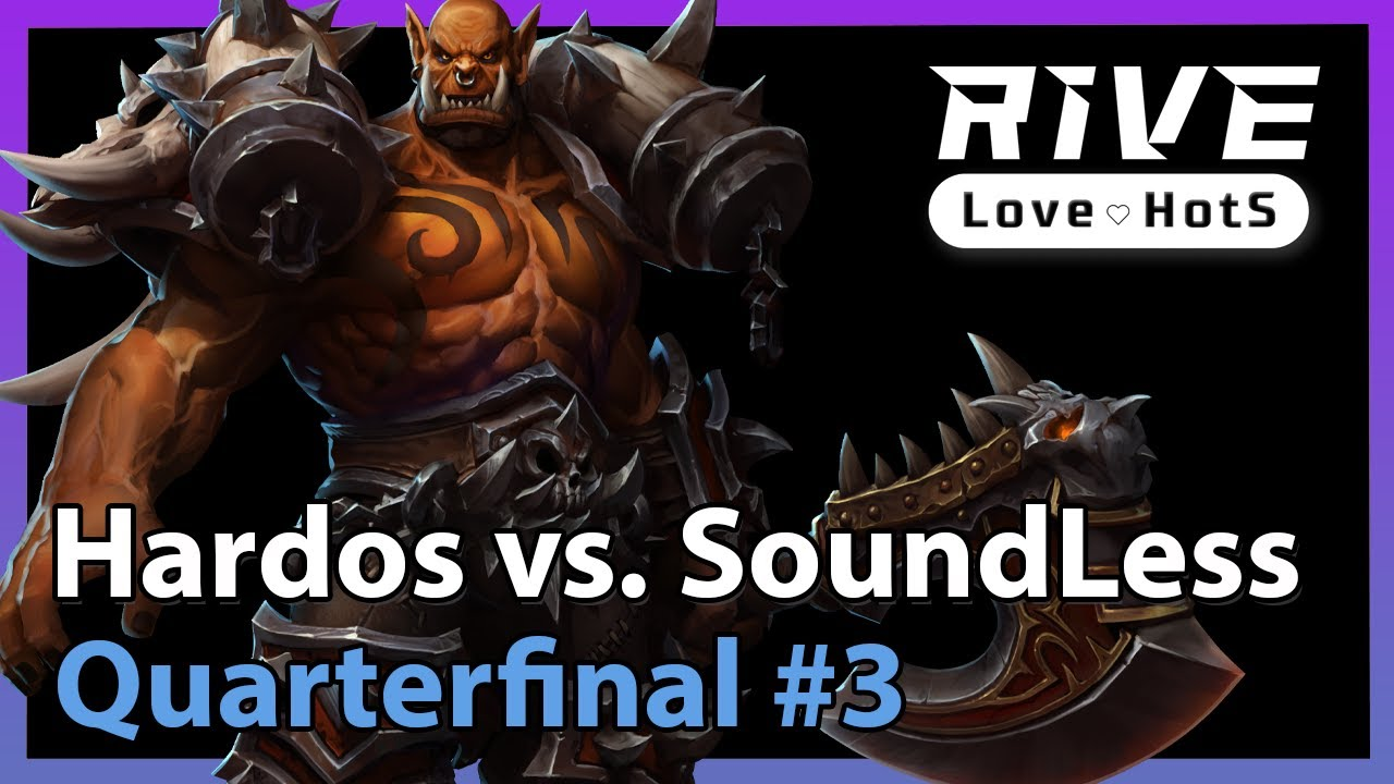 Hardos vs. SoundLess - Rive Cup - Heroes of the Storm 2021