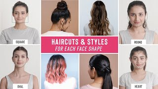 The Best Hairstyles & Cขts F๐r Y๐ur Fące Shape
