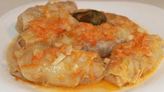 Голубцы с мясом. Очень вкусные! (cabbage rolls)