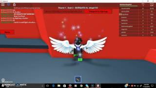 Roblox Sword Fighting Tournament (how to get outsid map glitch)