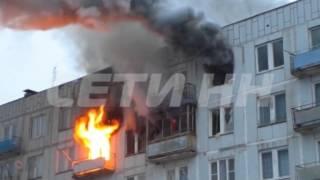 Серьезный пожар в Володарском районе.