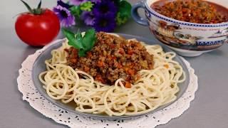 """Мясной Соус """"Болоньезе"""" !!! Вкусный соус к макаронам, пасте, лазанье, картошке."""