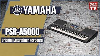 YAMAHA - PSR-A5000 Yeni Tanıtım Türkçe Sesler, Styler ve fonksiyonlar