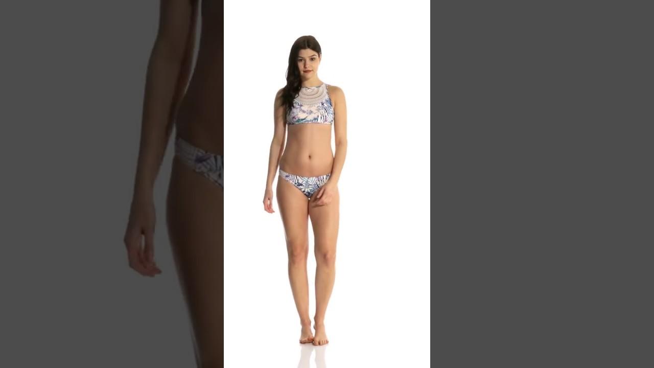 1ae505ca6eac8 Roxy Sea Lovers Crochet Surfer Bikini Bottom