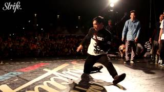 7 Commandoz vs Bboyworld Asia | New Taipei BBoy City Finals | Strife.TV