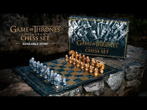HBO Game Of Thrones™ Collector's Chess Set | Official Available Now Announcement
