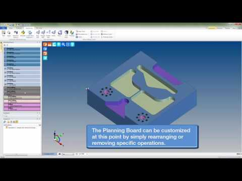 Automated Machining and Customization with Edgecam