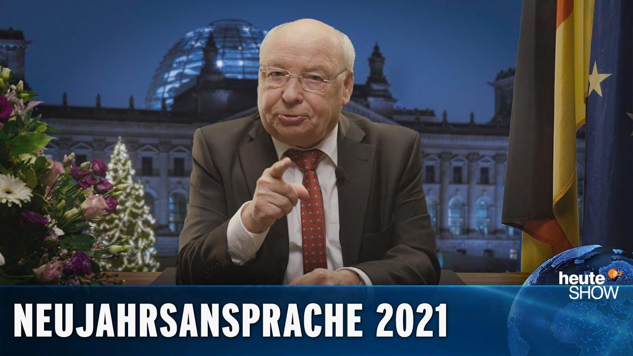 Die ehrliche Neujahrsansprache für 2021 – von Gernot Hassknecht | heute-show
