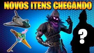 Fortnite-NEW SKINS and LEAKED ITEMS