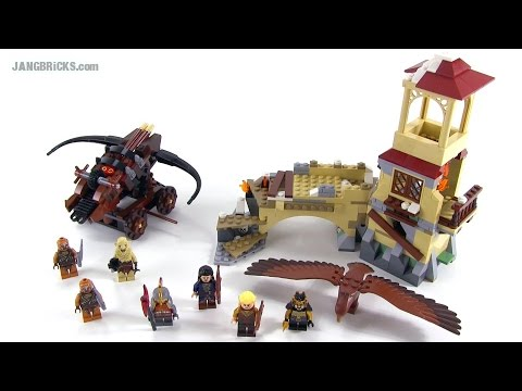 LEGO Hobbit: Battle of Five Armies set 79017 review!