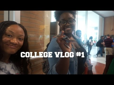 College Vlog #1 | UALR Second Day of Class!