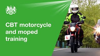 CBT moped/motorcycle training 2019: official DVSA guide