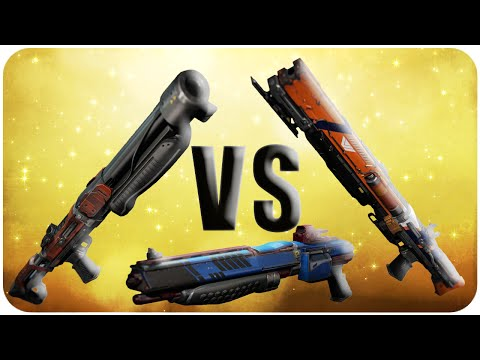 Destiny Party Crasher +1 vs Two to the Morgue vs Conspiracy Theory // Shotgun Weapon Comparison