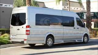 "2016 Mercedes Benz Sprinter 170"" Extended High Top Limo Limousine"