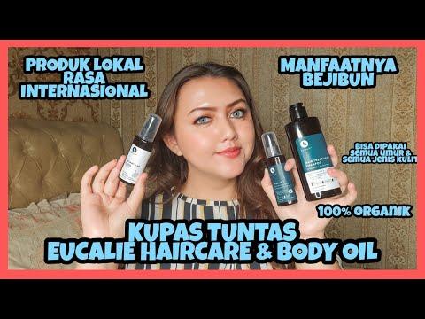 [Review] Eucalie Hair Loss Treatment Shampoo, Hair Oil & Body Oil | Khansamanda - YouTube
