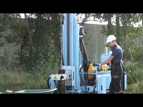 GTB2000 Cable Percussive Drilling Rig