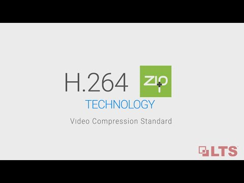 All-New H.264 Zip+ Technology Video Compression Standard Reduces Bandwidth and Saves Storage Space