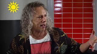 Metallica: Svenska musiker är fantastiska - Nyhetsmorgon (TV4)
