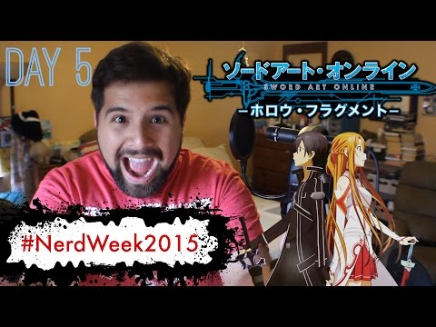 Sword Art Online - Crossing Field [ENGLISH] (OP 1) - Vocal Cover by Caleb Hyles - #NerdWeek2015