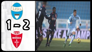 Spal 2 - monza: all goals & extended highlights