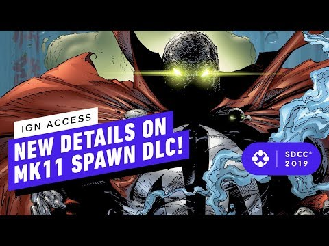 Todd McFarlane Talks Spawn in MK11 at San Diego Comic-Con