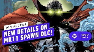 New Details on Spawn DLC in Mortal Kombat 11 - Comic Con 2019