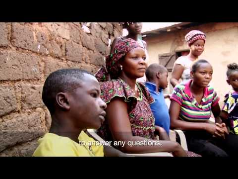 Central African Republic: Fabrice returns home
