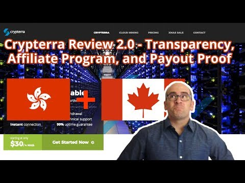 Crypterra.net Review 2.0: Transparency, Affiliate Program and Payout Proof