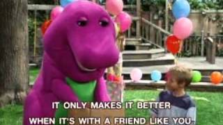 Barney - Being Together With Friends Song