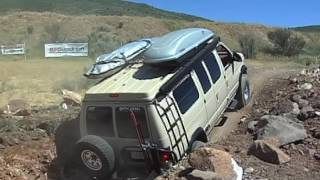 Sportsmobile obstacle course in Park City, Utah