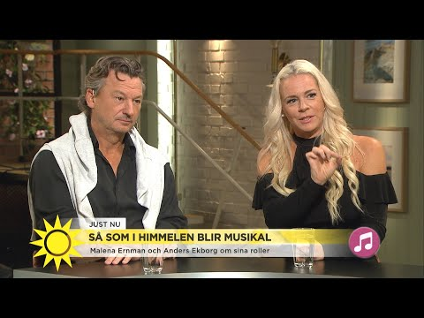 """Älskade filmen """"Så som i himmelen"""" blir stjärnspäckad musikal - Nyhetsmorgon (TV4)"""