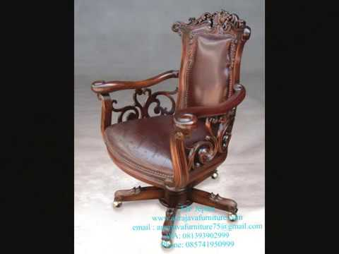 Wood Office Chair | Director Chair | Jepara Furniture | Indonesia Furniture | AJF | 2018