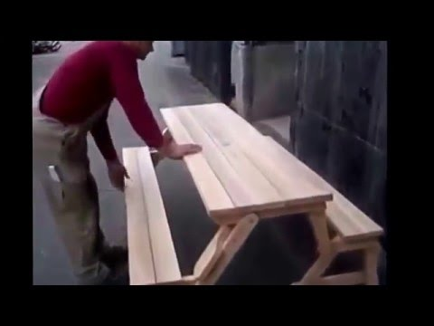 Woodworking Business – Versatile chair table
