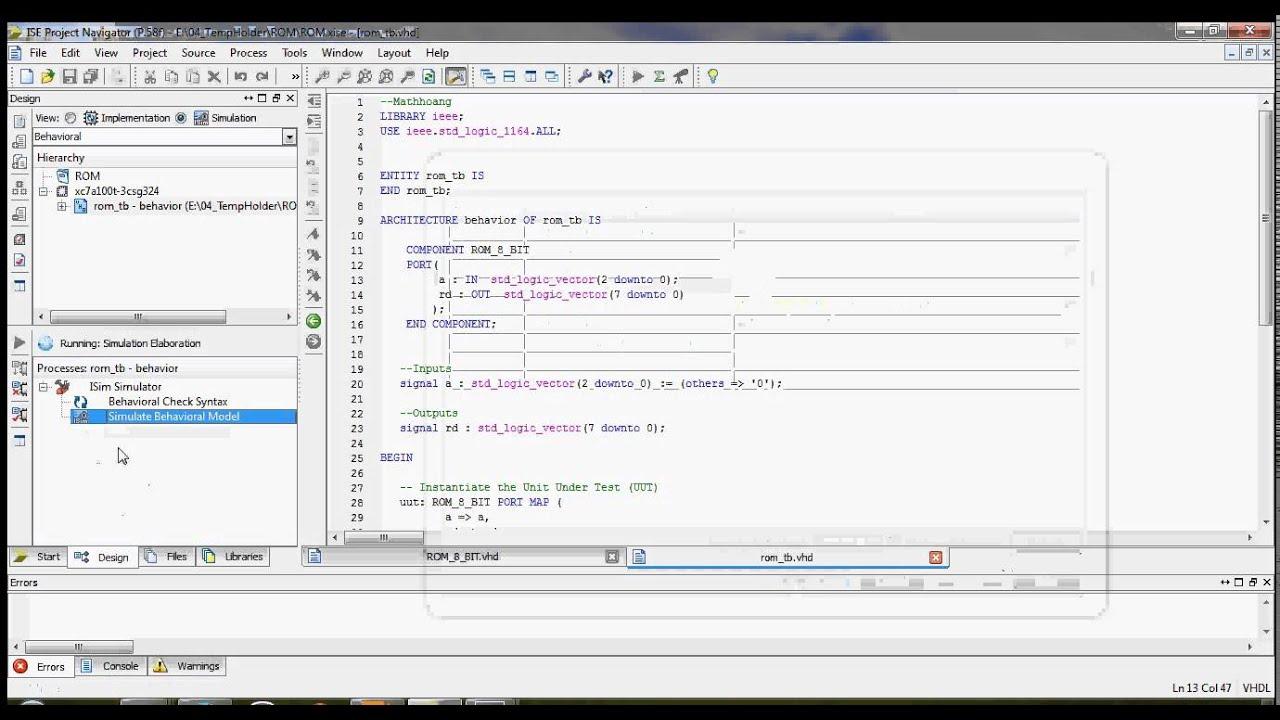 [Xilinx] Change default simulation run time for ISIM