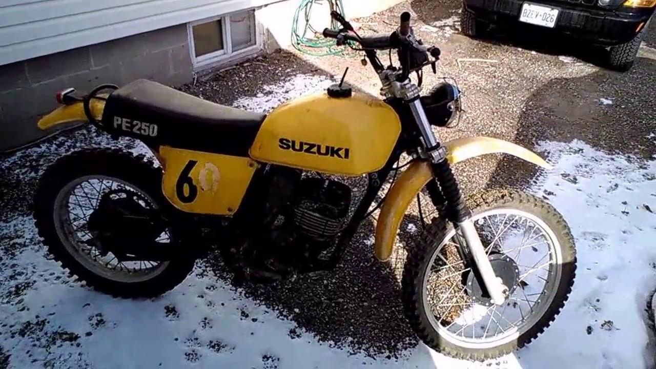 Vintage Suzuki Dirt Bike Youtube Trail Bikes