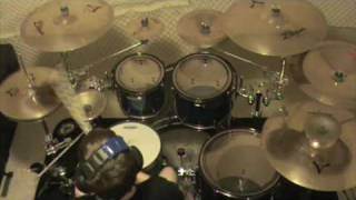 Repeat youtube video Asking Alexandria - Alerion & The Final Episode(Let's Change The Channel) - Drum Cover