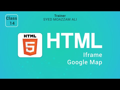 14. Create A Google Map Or Embed A Google Map| HTML & CSS Tutorial For Beginner