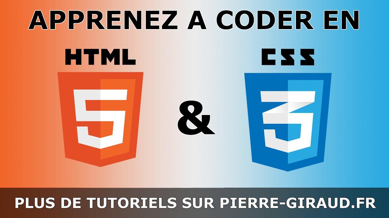 Cours Complet HTML CSS - Tutoriel pour Débutants et Confirmés [Partie 2/3] #1