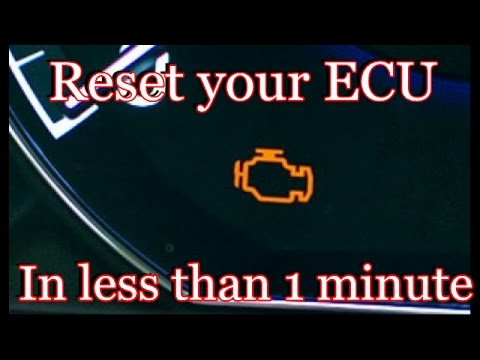 How to reset your ECU in less than 1 minute - YouTube