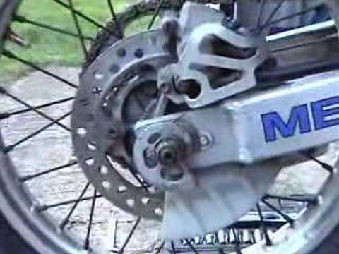 Honda XR250 Chain Adjustment XR250R Basics