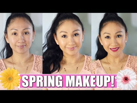 100% Pure Everyday Natural Makeup + Bright Spring Lip!