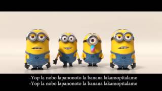 Despicable Me 2 | Minions Banana Song Lyrics