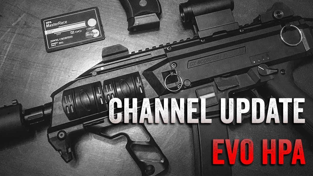 Channel Update Scorpion Evo Hpa Overview Youtube