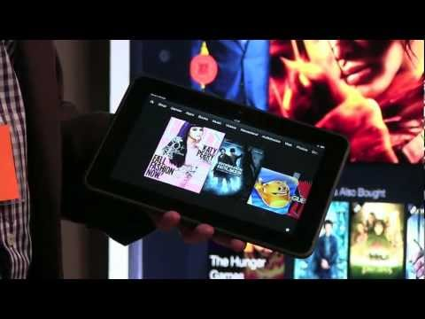 Amazon Kindle Fire HD 8.9 First Look