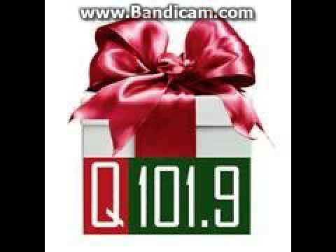 "25 Days of Christmas Radio 2016: Day 14: KQXT ""Q101.9"" Station ID December 14, 2016 5:59pm"