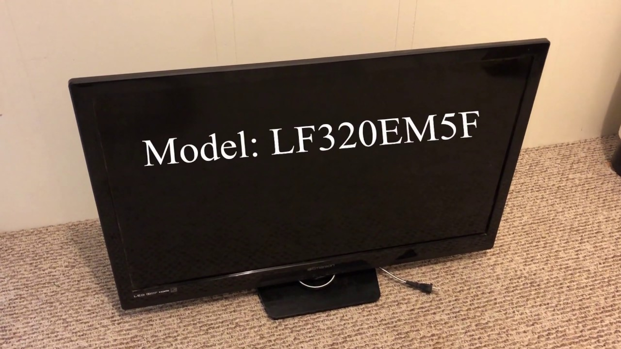 Repair Emerson Tv Power Button Youtube