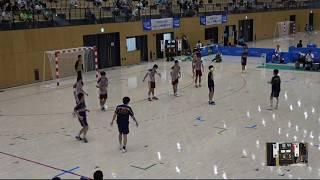 2018IH  男子ハンドボール 2回戦 愛知(愛知県)対 総社(岡山県)
